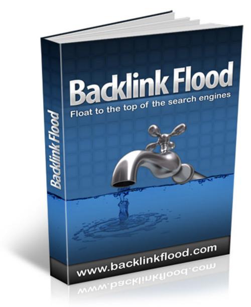 Product picture Back Link Flood - MRR + Bonuses